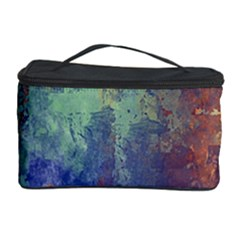 Abstract In Green, Orange, And Blue Cosmetic Storage Cases