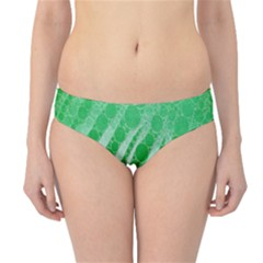 Florescent Green Zebra Abstract  Hipster Bikini Bottoms