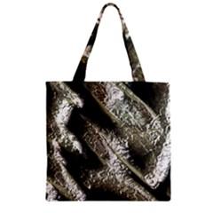 Brilliant Metal 5 Zipper Grocery Tote Bags