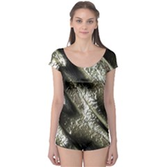 Brilliant Metal 5 Short Sleeve Leotard