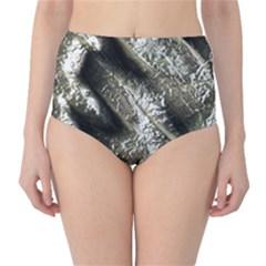 Brilliant Metal 5 High-Waist Bikini Bottoms