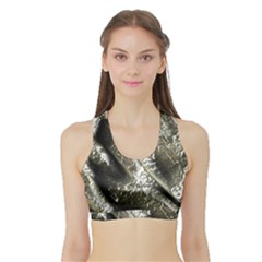 Brilliant Metal 5 Women s Sports Bra With Border