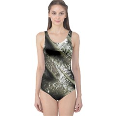 Brilliant Metal 5 Women s One Piece Swimsuits