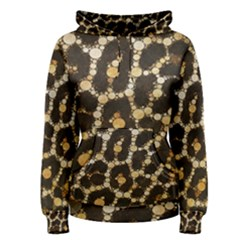 Crazy Beautiful Abstract Cheetah Abstract  Women s Pullover Hoodies