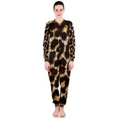 Crazy Beautiful Abstract Cheetah Abstract  OnePiece Jumpsuit (Ladies)
