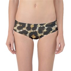 Crazy Beautiful Abstract Cheetah Abstract  Classic Bikini Bottoms