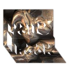Brilliant Metal 4 You Rock 3D Greeting Card (7x5)