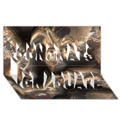 Brilliant Metal 4 Congrats Graduate 3D Greeting Card (8x4)