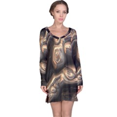 Brilliant Metal 4 Long Sleeve Nightdresses