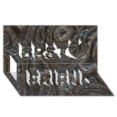 Brilliant Metal 2 Best Friends 3d Greeting Card (8x4)