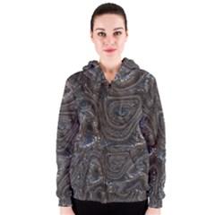 Brilliant Metal 2 Women s Zipper Hoodies
