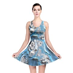 Metal Art 11, Blue Reversible Skater Dresses