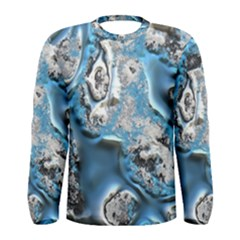 Metal Art 11, Blue Men s Long Sleeve T-shirts