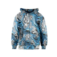 Metal Art 11, Blue Kids Zipper Hoodies