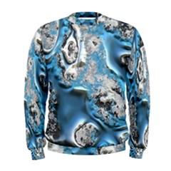 Metal Art 11, Blue Men s Sweatshirts