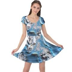 Metal Art 11, Blue Cap Sleeve Dresses