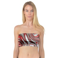 Metal Art 9 Red Women s Bandeau Tops