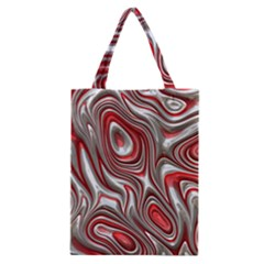 Metal Art 9 Red Classic Tote Bags