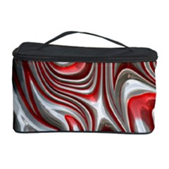 Metal Art 9 Red Cosmetic Storage Cases