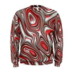 Metal Art 9 Red Men s Sweatshirts