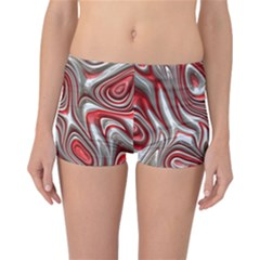 Metal Art 9 Red Reversible Boyleg Bikini Bottoms