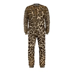 Brown Cheetah Abstract  OnePiece Jumpsuit (Kids)