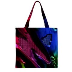 Colorful Broken Metal Grocery Tote Bags