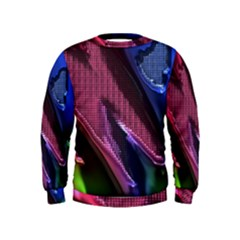 Colorful Broken Metal Boys  Sweatshirts