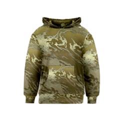 Metal Art Swirl Golden Kid s Pullover Hoodies