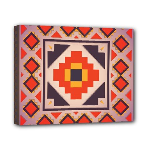 Rustic Abstract Design Canvas 10  X 8  (stretched)