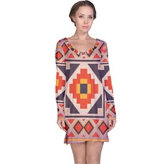 Rustic abstract design nightdress