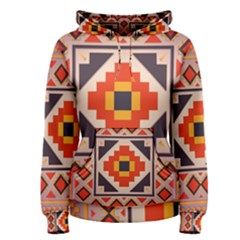 Rustic abstract design Women s Pullover Hoodie