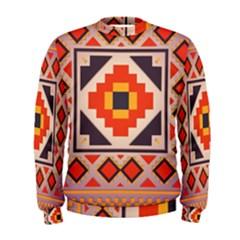 Rustic abstract design  Men s Sweatshirt