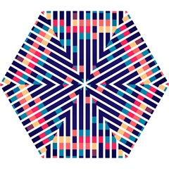 Stripes and rectangles pattern Umbrella