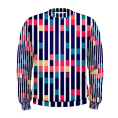 Stripes and rectangles pattern  Men s Sweatshirt