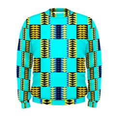 Triangles in rectangles pattern  Men s Sweatshirt