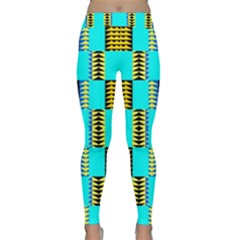 Triangles in rectangles pattern Yoga Leggings