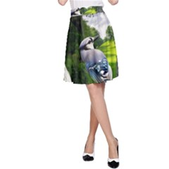 Bird In The Tree A-Line Skirts