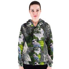 Bird In The Tree Women s Zipper Hoodies