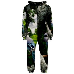 Bird In The Tree Hooded Jumpsuit (Ladies)