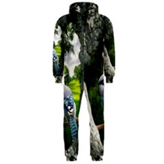 Bird In The Tree Hooded Jumpsuit (Men)