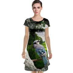 Bird In The Tree Cap Sleeve Nightdresses