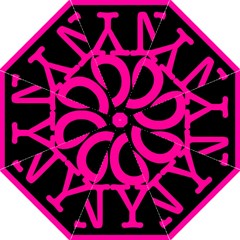 OCNYMOMS LOGO Straight Umbrellas