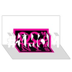 Ocnymoms Logo #1 Mom 3d Greeting Cards (8x4)