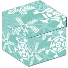 Snowflakes 3  Storage Stool 12