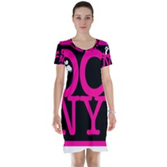 Ocnymoms Logo Short Sleeve Nightdresses