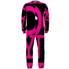 Ocnymoms Logo Onepiece Jumpsuit (men)