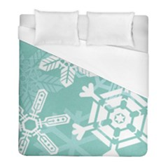 Snowflakes 3  Duvet Cover Single Side (twin Size)