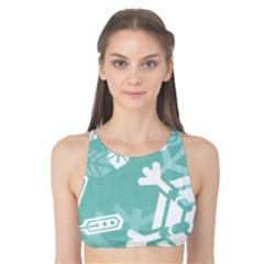 Snowflakes 3  Tank Bikini Top