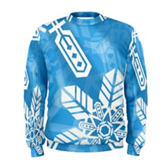 Snowflakes 1  Men s Sweatshirts